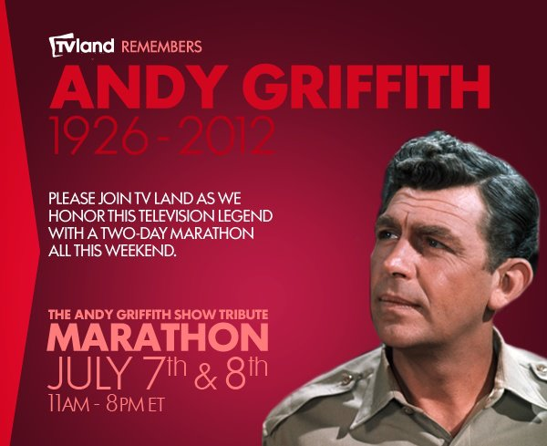Image result for andy griffith and june 7