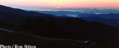 Appalachian Mountain Sunrise
